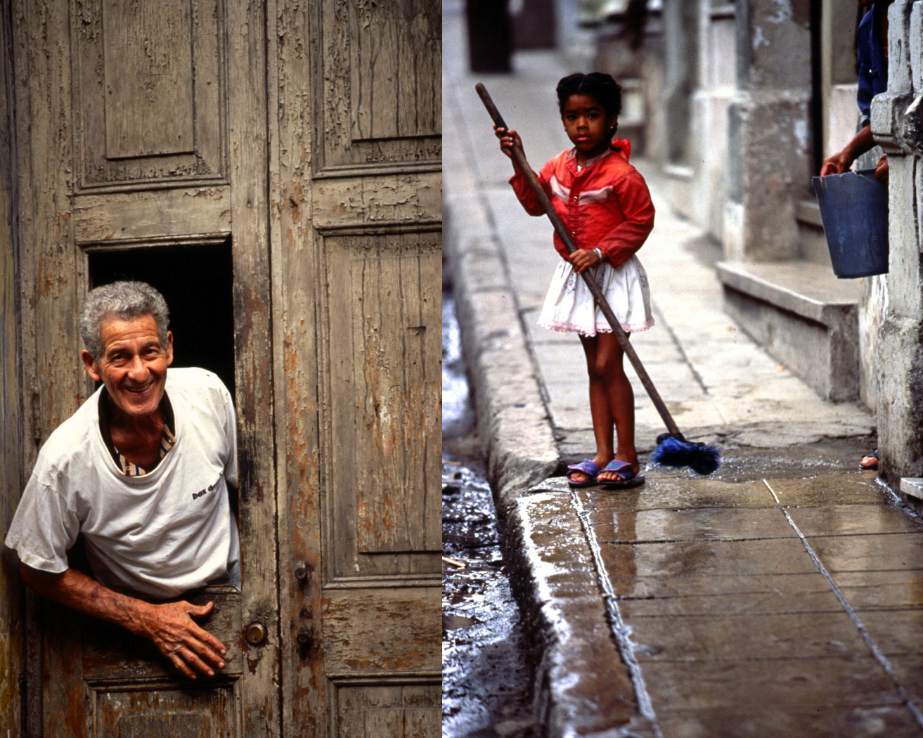 Local faces on Havana streets/Steve Mason Photography